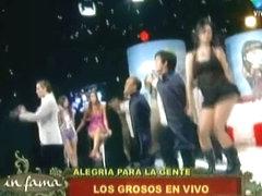 Upskirt video of a hot, alluring dancer