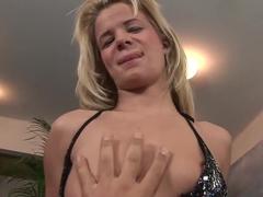 Horny pornstar Bianka Lovely in exotic pov, blonde adult scene