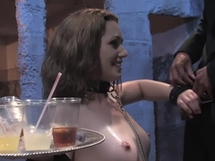 Brand new girl gets her porn intitation on Public Disgrace!!!