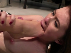 Horny pornstars Misha Cross, Tiffany Doll in Exotic College, Small Tits porn clip