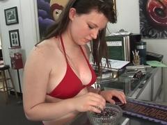 Best pornstar in crazy brazilian, fetish xxx clip