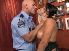 Kinky soldier Johnny Sins satisfies Rachel's Starr secret desires