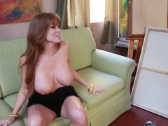 Buxom, caring mother Darla Crane invites her friend's son with big dick
