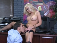 Dylan Riley & Talon in Naughty Office