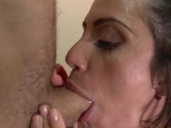 Ariella Ferrera banged by James Deen in gym