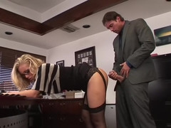 Nicole Aniston Gets Appreciated at the Workplace