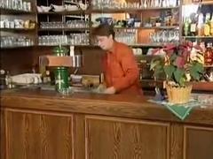 Big Bbw granny fucked at the bar