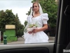 Teen bride gets  dumped by fiance and banged by stranger