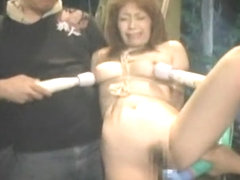 Japanese village girl gets to squirt hardcore