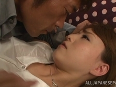 Gorgeous Asian babe enjoying a good fucking