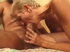 Hot Shorthaired Older Cougar Banging Hard