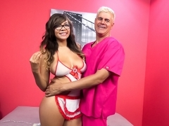 Cassidy Banks & Porno Dan in Cassidy Banks' Healing Gazongas Video