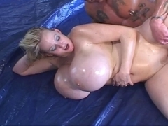 Kayla: Massive Fake Oily Love Bubbles