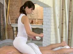 Horny pornstar in Crazy Massage sex scene
