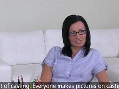 Fabulous pornstar in Amazing Casting, Brunette adult clip