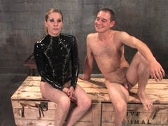 Exotic fetish sex movie with fabulous pornstars Curt Wooster and Maitresse Madeline Marlowe from K.