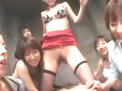 Incredible Japanese whore Izumi Hasegawa, Jun Seto, An Nanba in Horny POV, Stockings/Pansuto JAV m.