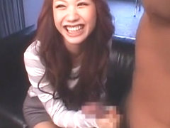 Best Japanese chick LUNA in Exotic Facial, Threesomes JAV video