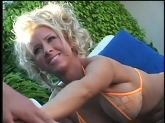 Sexy College Coeds Have Sapphic Fun At The Pool
