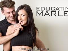 Marley Brinx & James Deen in Educating Marley Video