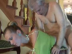 HornyOldGents Video: Cecilia and Caspar M