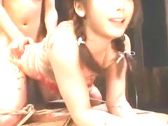 Exotic Japanese whore Fuka Nanasaki in Crazy BDSM, Swallow/Gokkun JAV video
