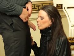 Horny pornstar Simony Diamond in exotic brazilian, deep throat porn clip