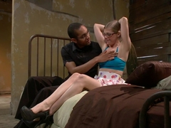 Amazing fetish sex video with exotic pornstars Mickey Mod and Penny Pax from Dungeonsex
