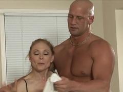 Amazing pornstar in Fabulous Stockings, Mature adult movie