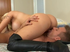 Naughty busty Candy Manson fucked by Bill Bailey