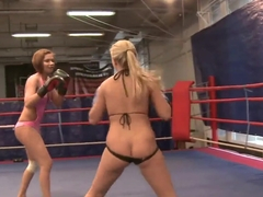Barbie White and Cipriana have hot chick fight