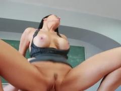 Johnny Castle fucks busty slut Vanilla DeVille