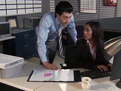 Xander Corvus fucks his assistant Priya Anjali Rai