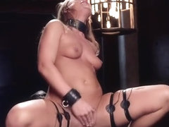 Hot slave slave training with cumshot