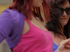 Horny pornstar in Exotic Redhead, Lesbian xxx video