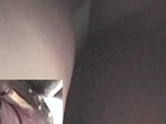 Up petticoat spy webcam records valuable white strap
