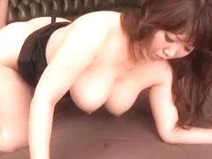 Hottest Japanese girl Kaname Honda in Crazy Mature/Jyukujyo, Face Sitting JAV scene