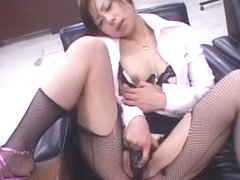 Exotic Japanese slut Mio Amano in Fabulous Threesomes, Dildos/Toys JAV movie