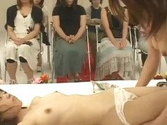 Amazing Japanese model Rin Souma, Riri Kouda in Fabulous Stockings/Pansuto JAV video