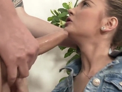 Exotic pornstar Timea Bela in fabulous european, deep throat porn clip