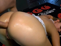 Hottest pornstar Ani Black Fox in Incredible Cumshots, Swallow sex movie