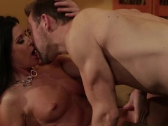 Amazing pornstars Erik Everhard, India Summer in Fabulous Brunette, Cumshots porn clip