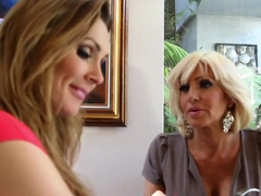 Hottest pornstars Tara Holiday and Carter Cruise in exotic lesbian, blonde xxx clip