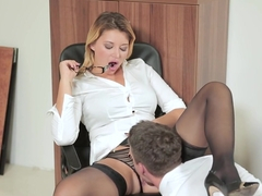 Best pornstar Anna Polina in Amazing Redhead, Asian sex scene