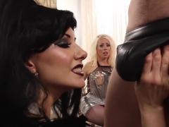 Hottest fisting, fetish xxx scene with best pornstars Maitresse Madeline Marlowe and Lorelei Lee f.