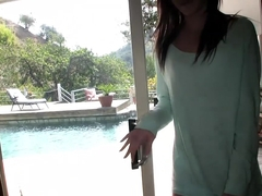 Emma Stoned in Pussy Over Swimming