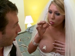 Brynn Tyler and Jordan Ash in first wedding night