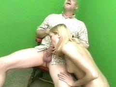 Txxx. Aya Sakuraba gets down and dirty with blowjob.