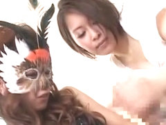 Amazing Japanese model Saki Ootsuka in Best Threesome, Toys JAV clip