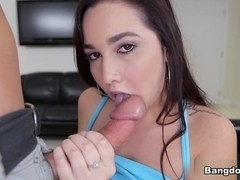 Karlee Grey in Beautiful latina with Amazing Tits Gets Fucked! Video